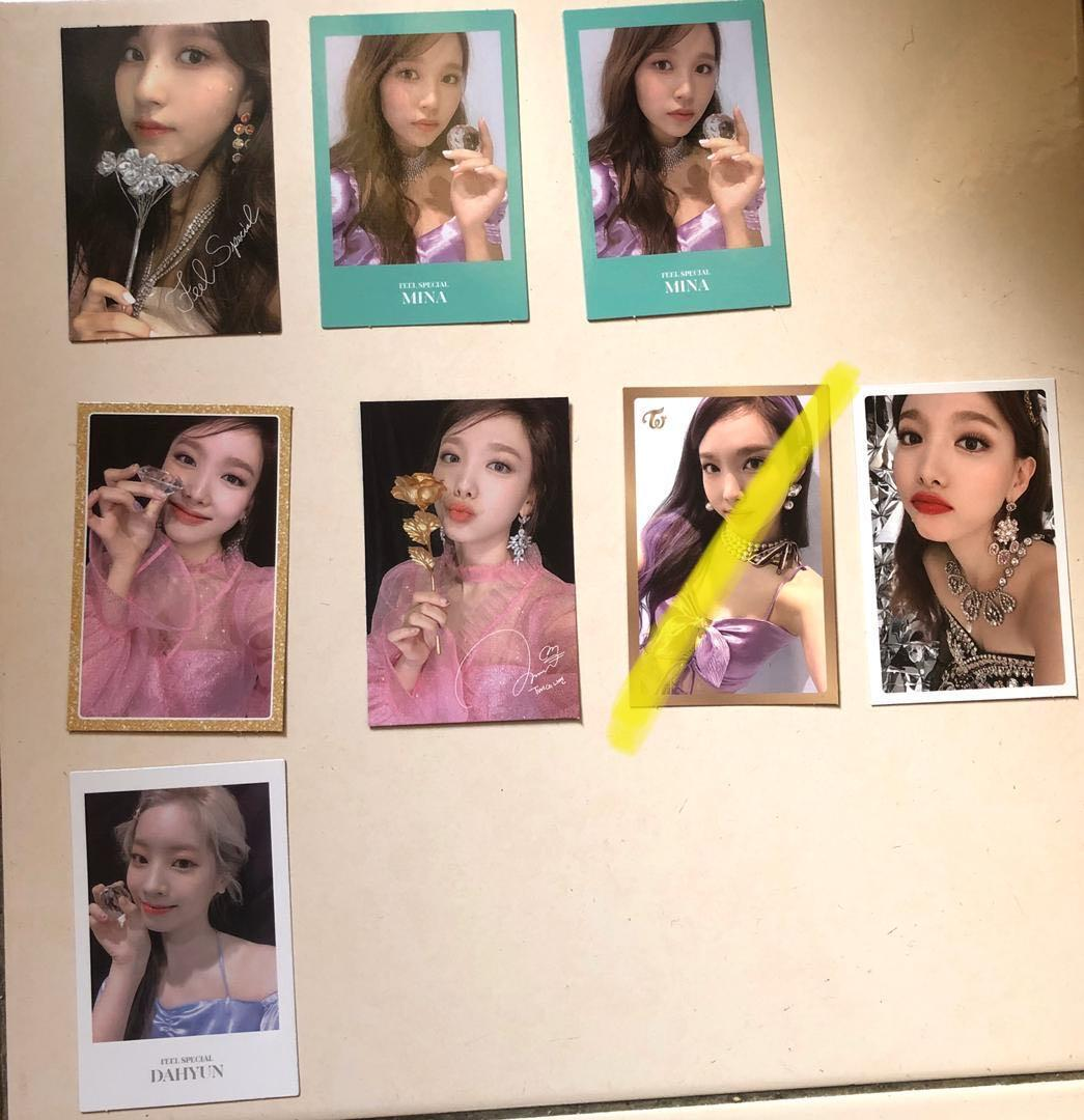TWICE FEEL SPECIAL PHOTOCARDS