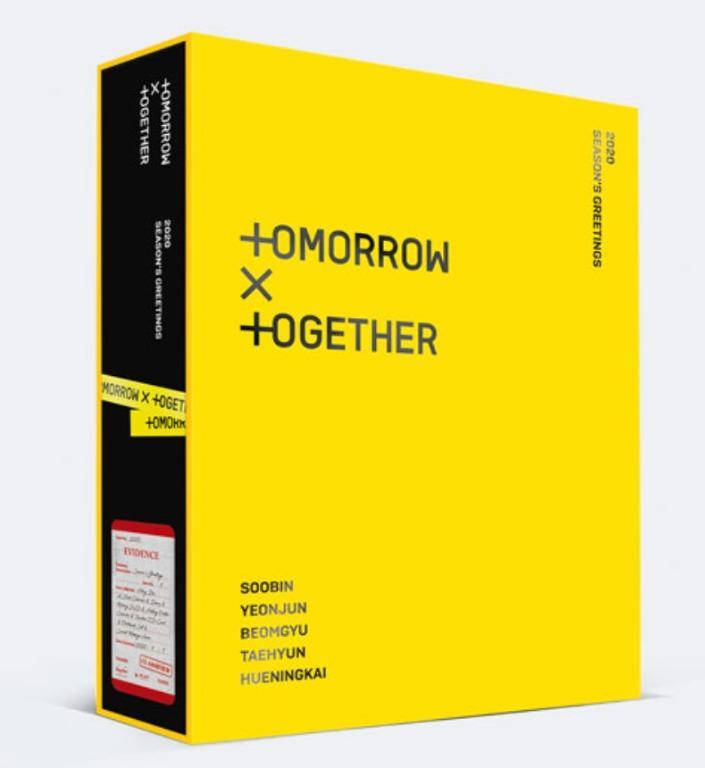TXT Tomorrow X Together 2020 Season's Greeting DVD