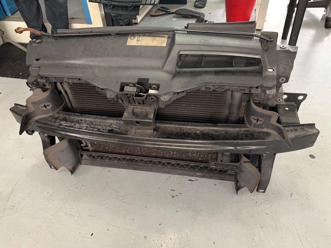 volkswagen scirocco radiator + condenser + fan set