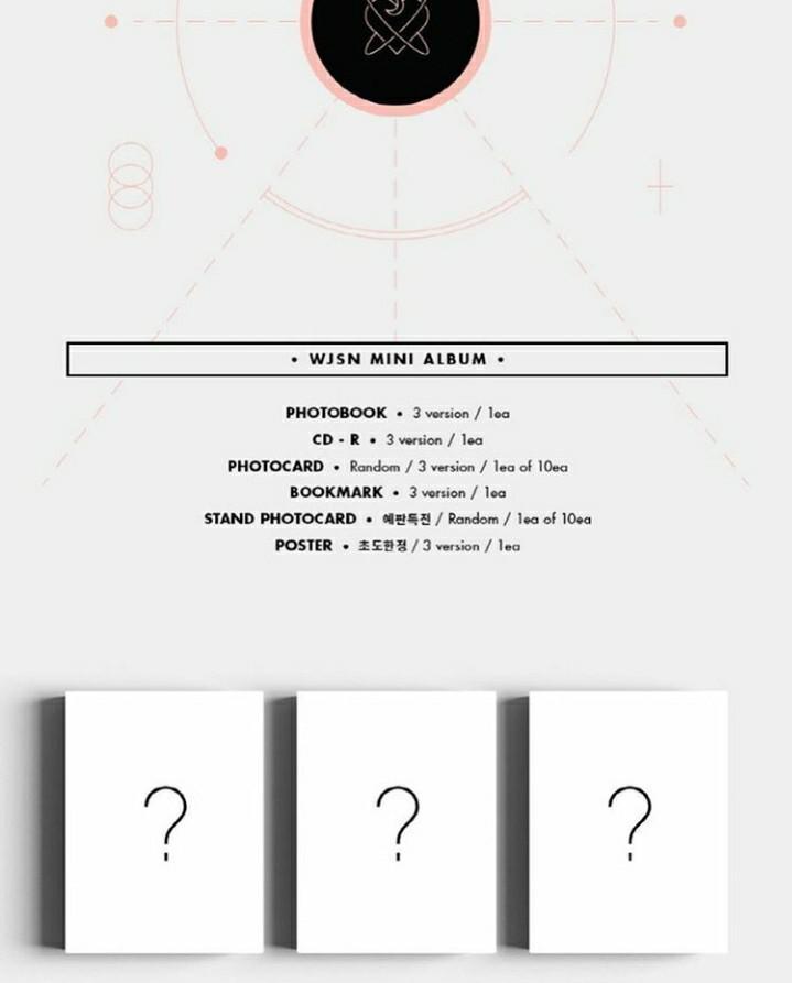 WJSN Mini Album: As You Wish