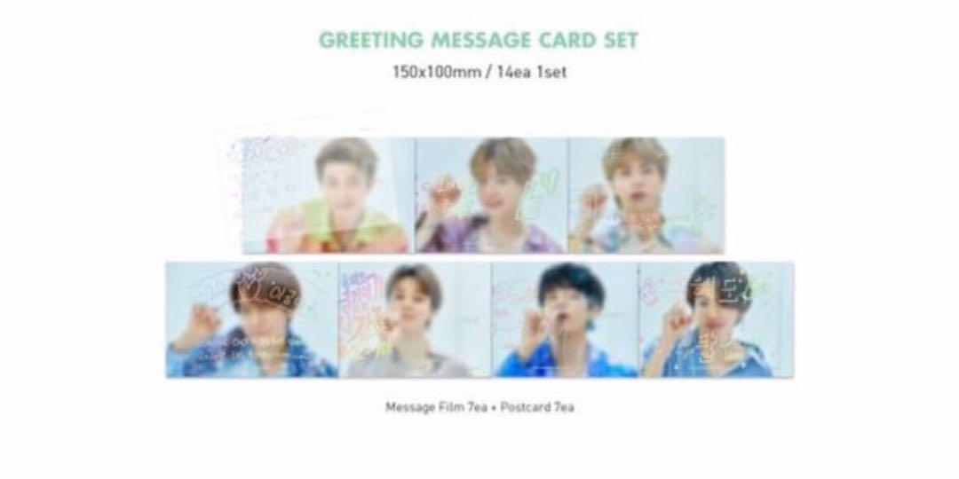 [WTS] SET MESSAGE FILM+GREETINGS POSTCARD+ ID PHOTO+MINI POSTER