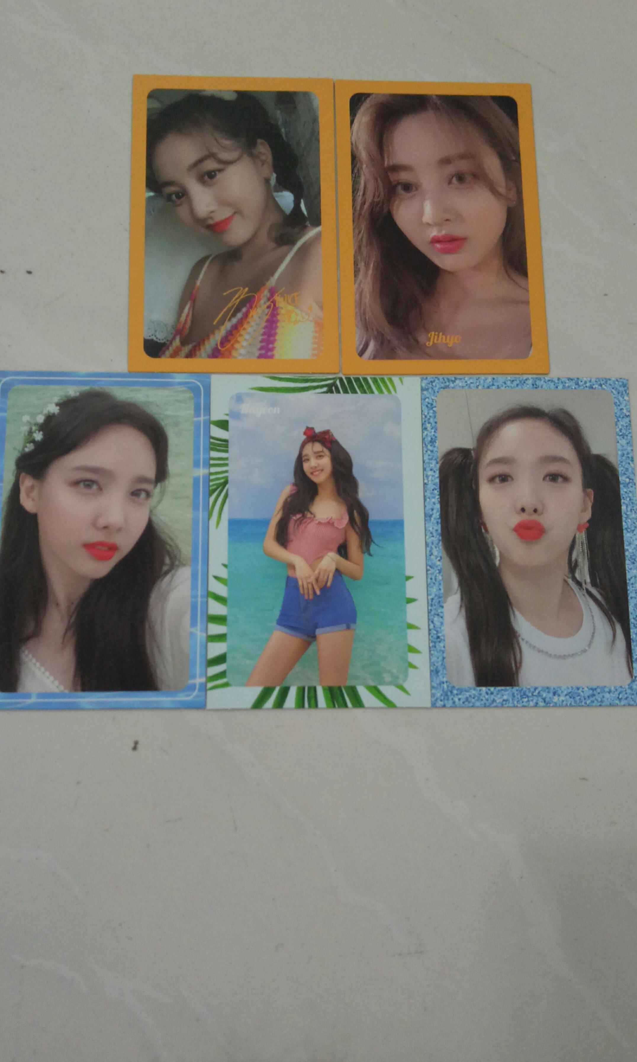 (WTT/WTS) TWICE SUMMER NIGHTS DANCE THE NIGHT AWAY PHOTOCARDS