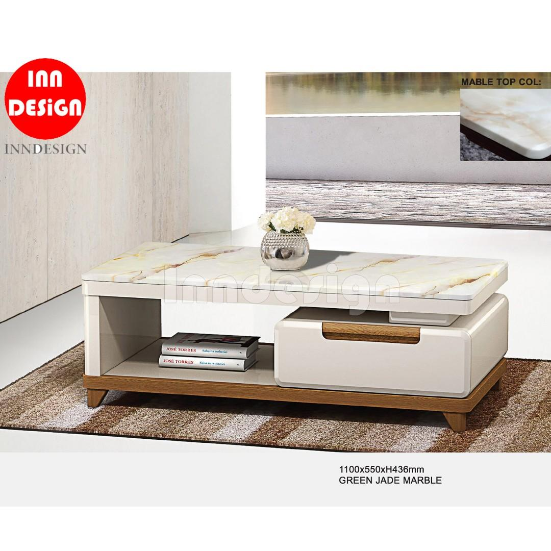 Yuline Marble Coffee Table Furniture Tables Chairs On Carousell
