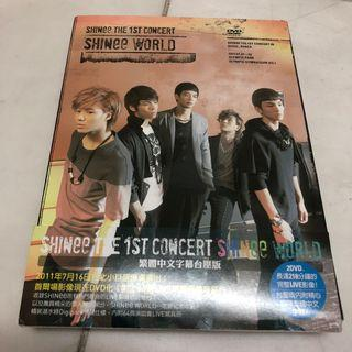 SHINee World DVD Taiwan Issued