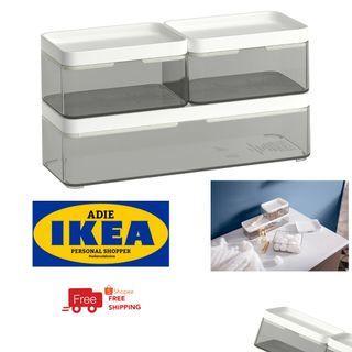 IKEA BROGRUND STORAGE BOX SET 3 IN 1