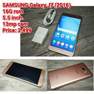 SAMSUNG Galaxy J7 (2016)  16G