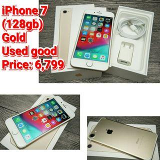 iPhone 7  (128gb) Gold