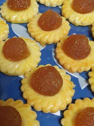 Pineapple Tarts Halal with eggwash