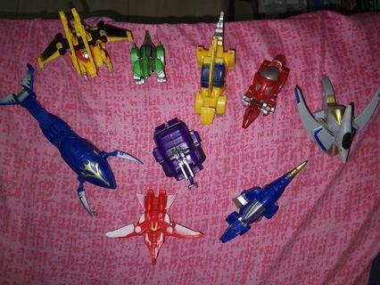 Gransazer zord robot toys