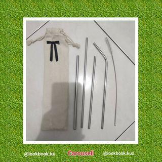 Straw Stainless /Sedotan besi