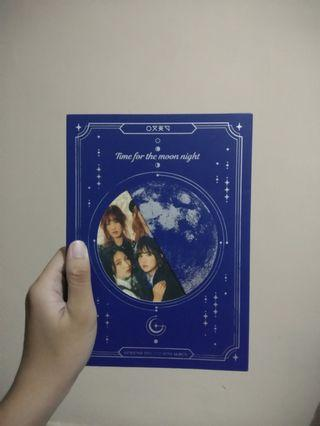 Album GFRIEND TIME FOR THE MOON NIGHT Ver : Moon (unsealed)
