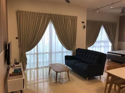 Tri Tower / JB Town / studio / fully / 1800 / house for rent