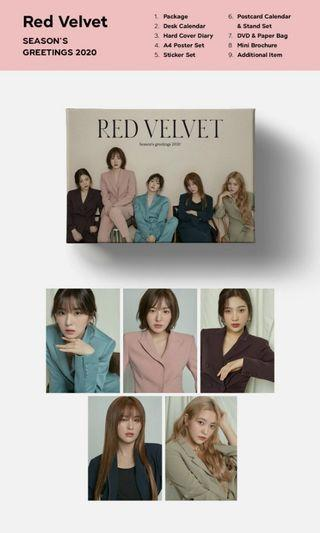 (LOOSE ITEM) Red Velvet Season Greeting 2020