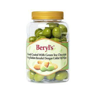 BERYLS ALMOND COATED WITH GREEN TEA CHOCOLATE BOTTLE 410g
