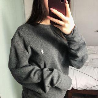 ralph lauren grey sweater