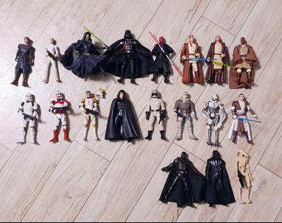Star Wars 3.75 Lot Clear Sale