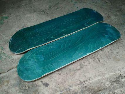 Skateboard Blank Deck 8.1
