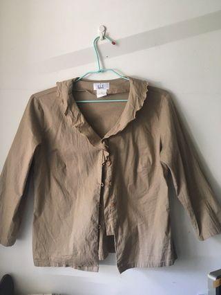 [VIF] 荷葉領襯衫