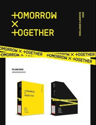 TXT (TOMORROW X TOGETHER) 2020 SEASON'S GREETING