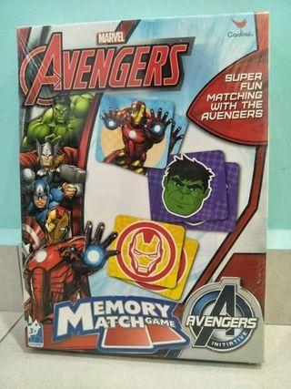 Avengers Memory Match Game