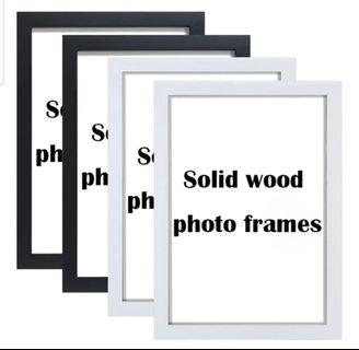 Photo frame with hook