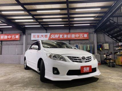 2011 Toyota Altis 1.8E 冰晶白 非自售 代步車 實車實價