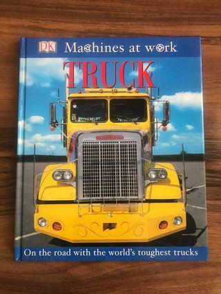 Truck children book
