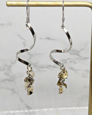 Platinum Vermeil Earrings