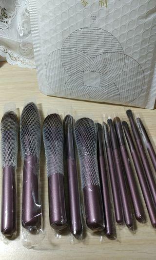 全新 現貨 我最便宜 琴制 同款 紫丁香 小葡萄 刷具 12隻一組