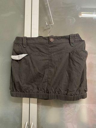 A la sha造型短裙