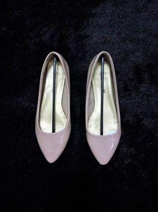 American Eagle Nude Flat Shoes by Payless