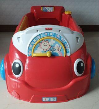 Fisher price - laugh and learn crawling car