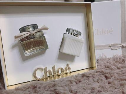全新Chloe 同名女性淡香精 50ml+身體乳100ml 賠售