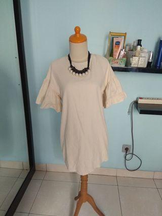 Berrybenka suede bell dress