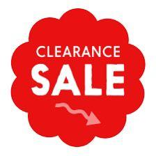 CLEARANCE OR MOVING OUT SALE