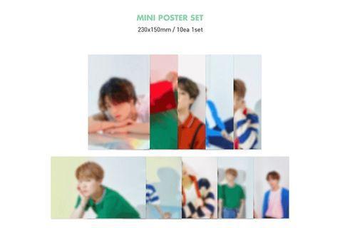 BTS Season Greeting 2020 UNIT Mini Poster + Making DVD