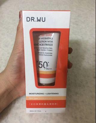 DR.WU 全日保濕防曬乳潤色款 30ml
