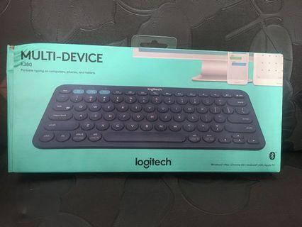 Keyboard Logitech K380 Multi-Device Blue