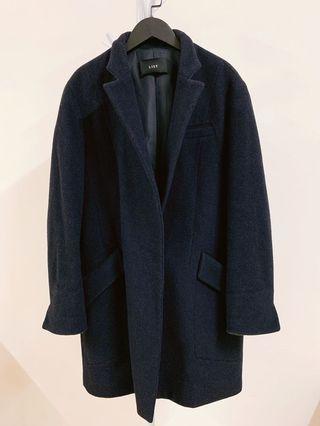 韓國購入 🇰🇷 正韓 羊毛88%長版大衣