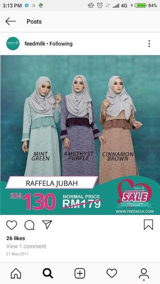 rafella jubah by feedmilk