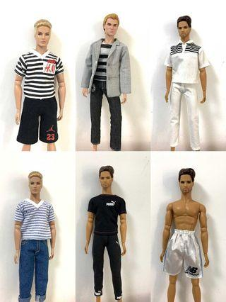 Men Doll All Clothes & Pants