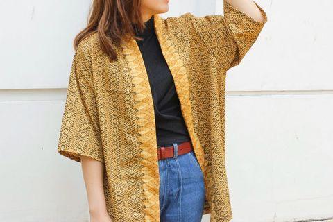 Kardigan batik luaran batik kimono batik