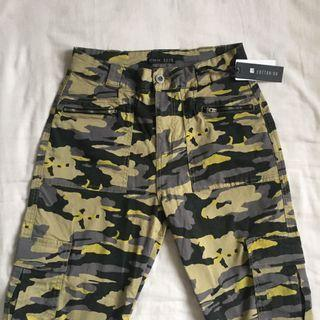 Cotton On Highwaisted Camo Army Pants