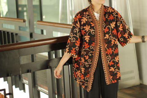 Kimono Outer batik luaran batik kardigan batik
