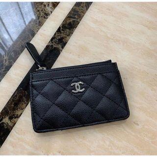 chanel authentic card holder vip gift