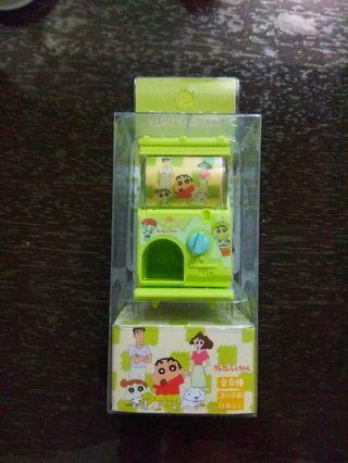 蠟筆小新 迷你 袖珍 轉蛋機扭蛋機玩具 全新 夾娃娃機 戰利品