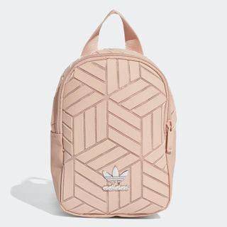 """""""3D MINI BACKPACK"""" Adidas Originals 全新 三宅一生 粉色 裸色 迷你 背包 後背包 肩背包 書包 迷你後背包 EK2890"""