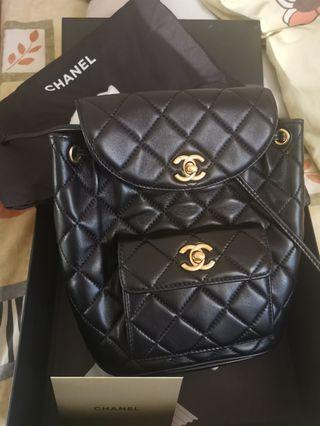 Brand new leather fashion backpack