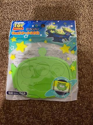 日本代購 玩具總動員 三眼怪紙巾蓋