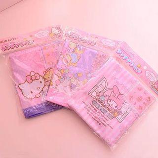 卡通手絹方巾3條組合優惠